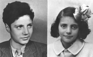 Lucienne et papa 1940